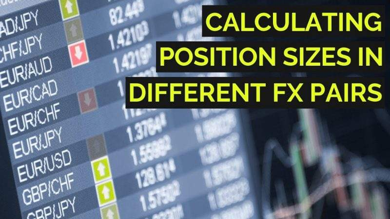 How to calculate the size of a position in Forex